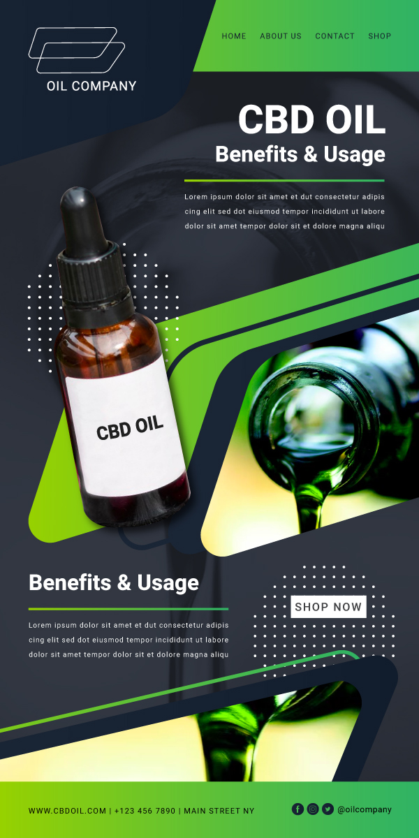 630466 Wireframe Cbd Oil Website 600x1200